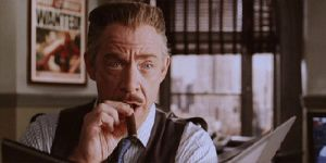 Hero Hater Jonah Jameson in Spiderman