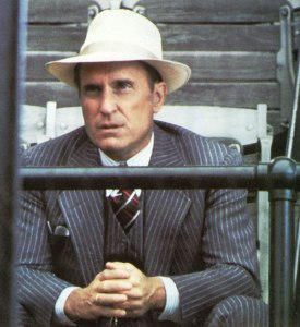 Robert Duvall as Max Mercy in The Natural